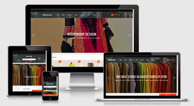 BetaCommerce Shopping Blogger Template