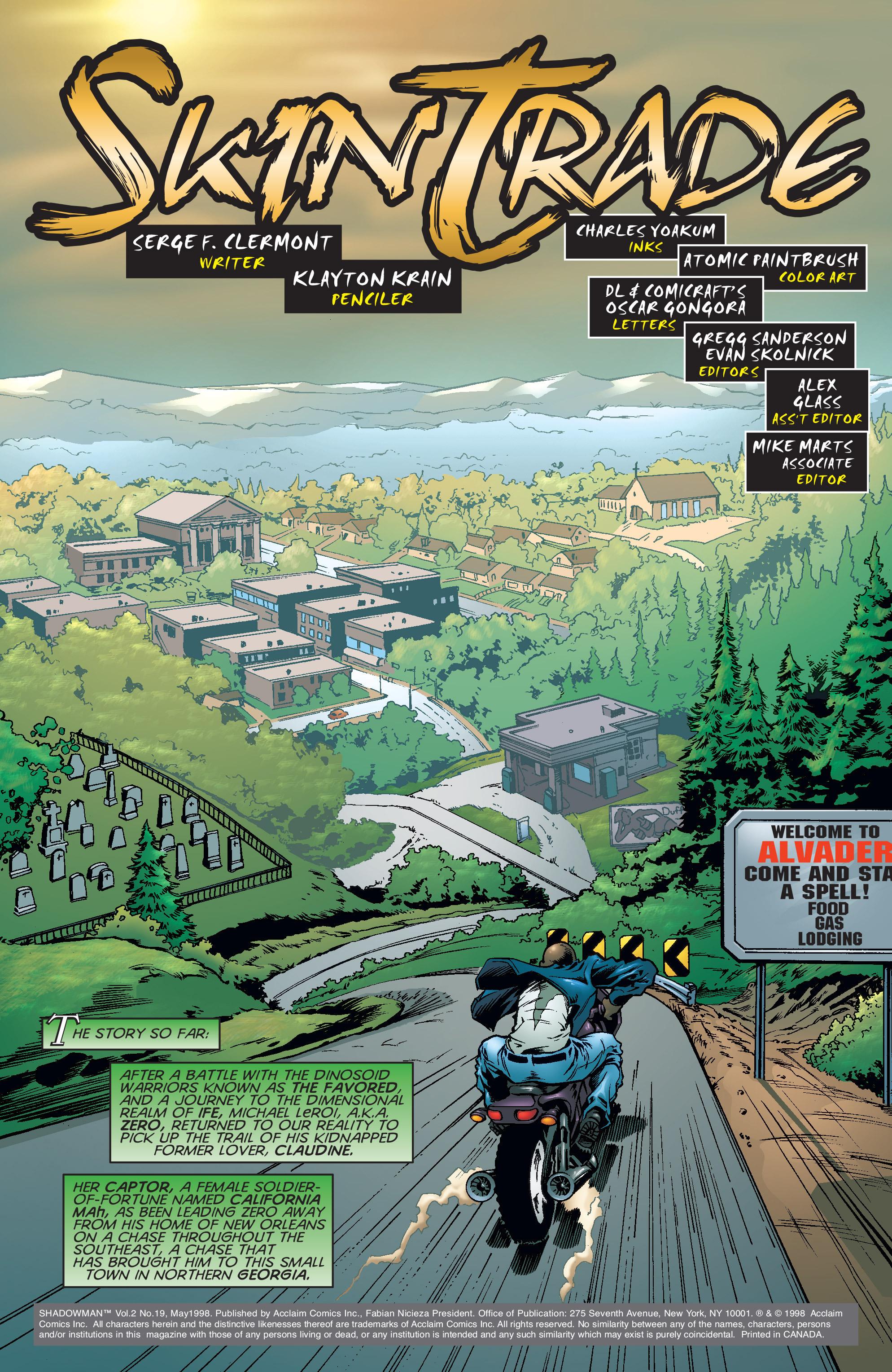 Read online Shadowman (1997) comic -  Issue #19 - 2