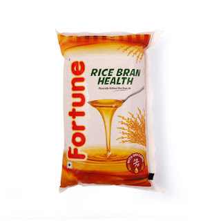 Fortune Refined Rice Bran Edible Oil 1L Pouch