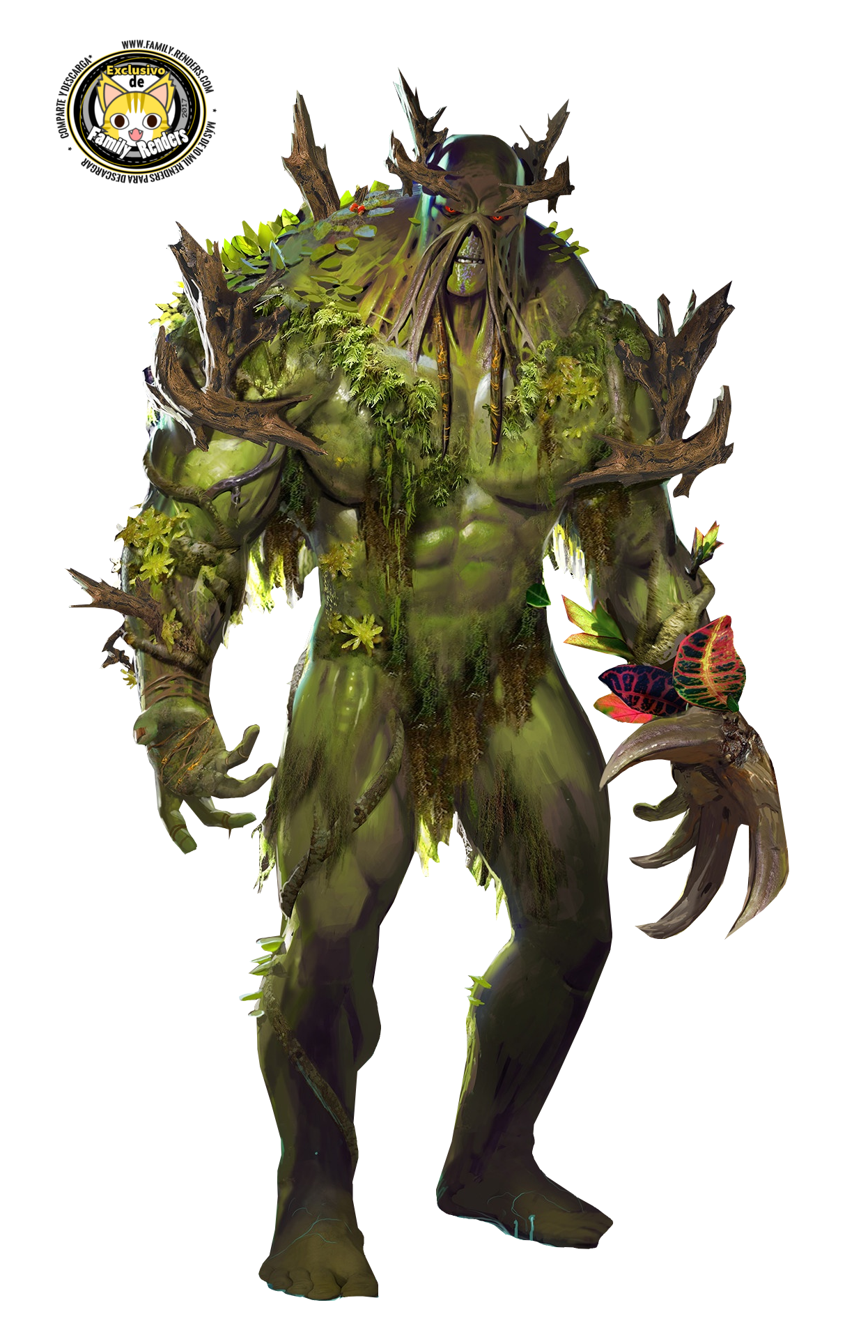render La cosa del pantano (Swamp Thing)