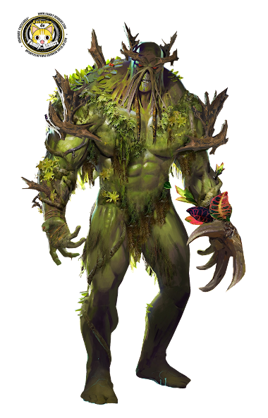 render La cosa del pantano (Swamp Thing)