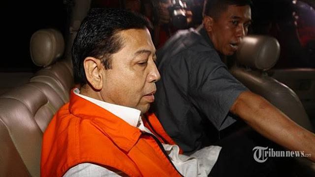 Ketika Setya Novanto Curhat Soal Obat dan Makanan Di Tahanan KPK