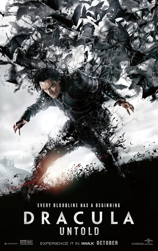 ตัวอย่างหนังใหม่ : Dracula Untold (แดร็กคูล่า ตำนานลับโลกไม่รู้) poster ซับไทย