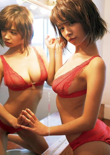菜乃花 Nanoka Weekly Playboy Nov 2016