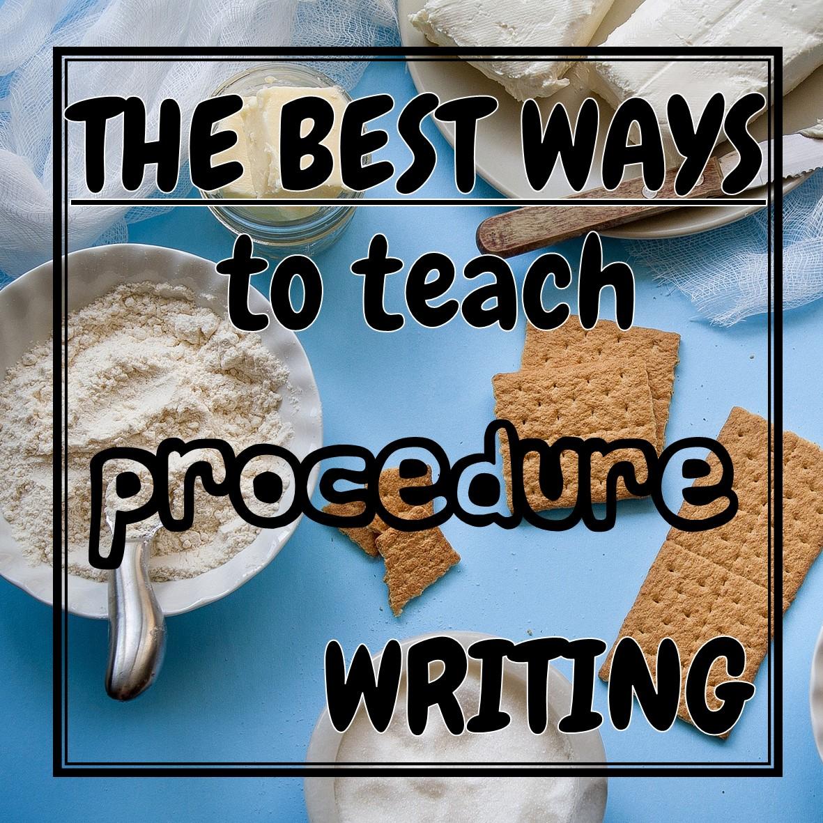 Mrsamy123 Procedure Writing