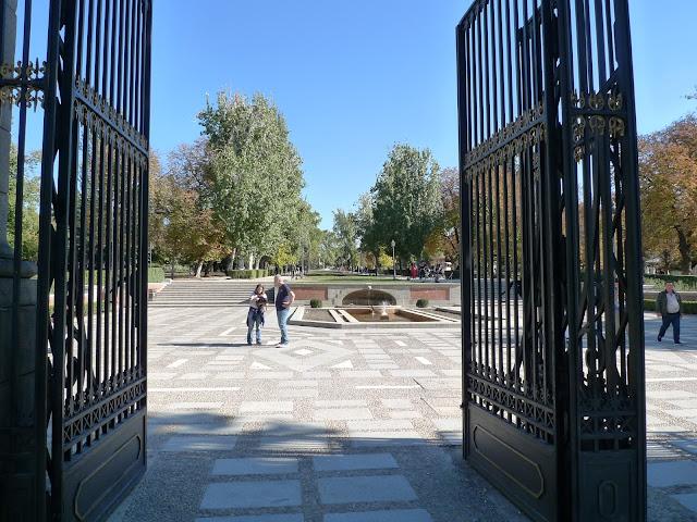 1 dzień zwiedzania w Madrycie-Park Retiro/One day of sigtseeing in Madrid - Retiro Park