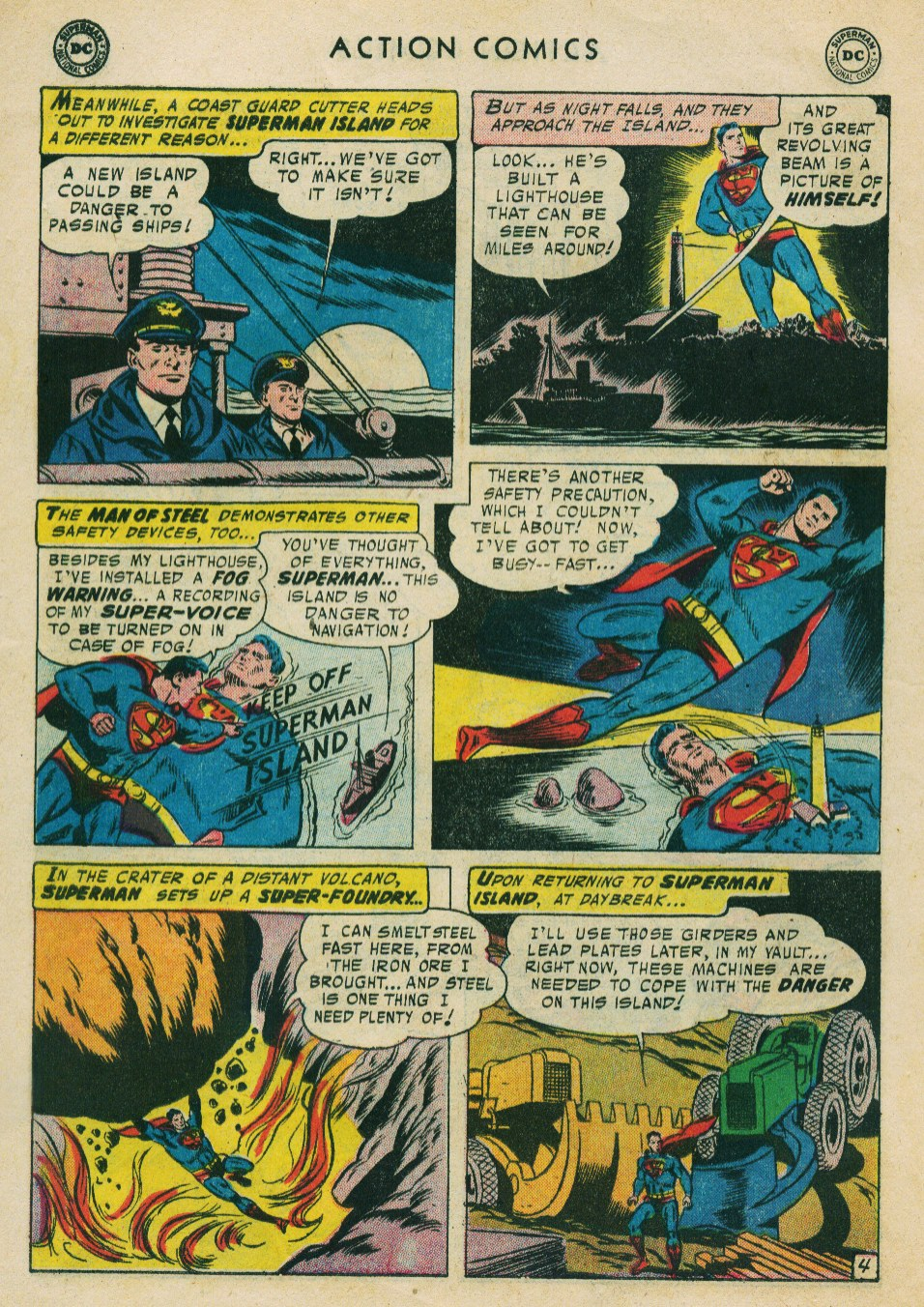 Read online Action Comics (1938) comic -  Issue #224 - 6