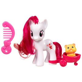 MLP Single with DVD Plumsweet Brushable Pony