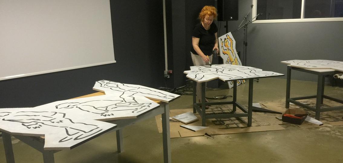 Zeitgenössische internationale Kunst-Messe / K-PAX auf der art\'pu:l ...