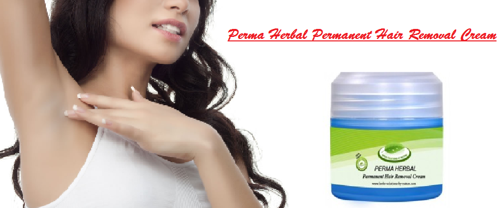Perma Herbal Permanent Hair Removal Cream Painless Permanent Hair