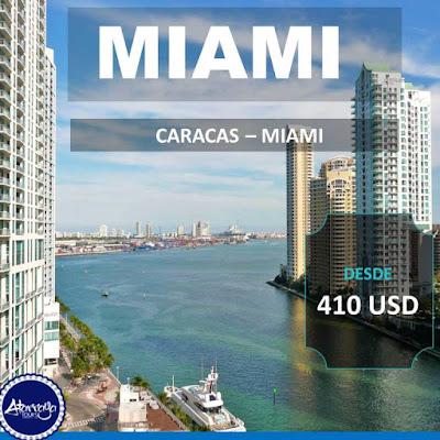 imagen Vuelos Miami  desde caracas 410 USD