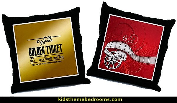 Movie - Cinema Throw Pillows
