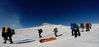 Search and Rescue on Mount Erebus