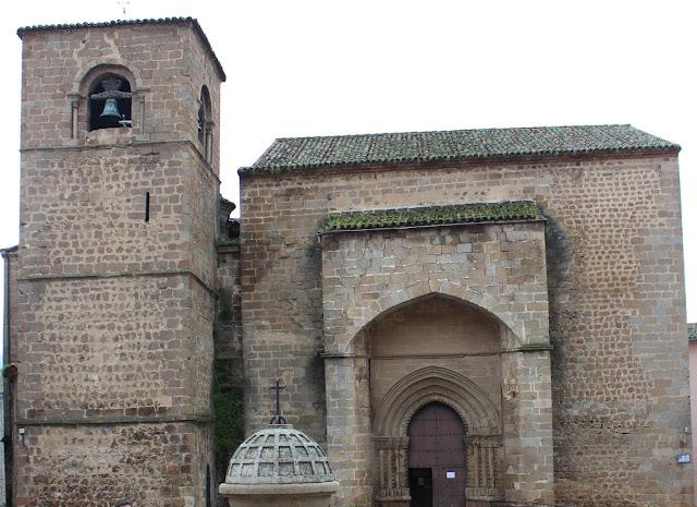 Iglesia de san Nicolás de Bari en Plasencia