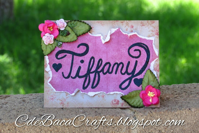 Tiffany Card_CdeBacaCraftsCard