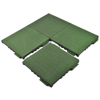 Greatmats rubber playground surfacing tiles