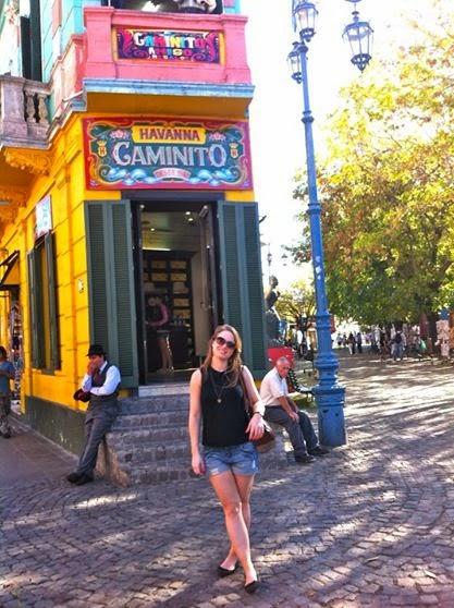Wanderlust Chloe - Chloe Gunning - La Boca Buenos Aires