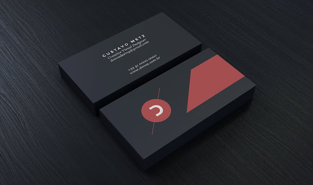 mockup  psd : Corporate.DVD1 - Black_Stationery_Branding_Mock-Up