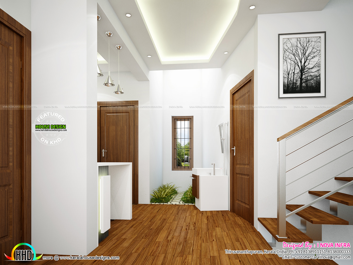 New Classical Interior Works At Trivandrum Kerala Home