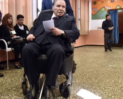 82-year old Algerian president, Abdelaziz Bouteflika drops bid for fifth term in office