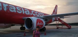 Vuelo Chiang Mai-Krabi con Air Asia.