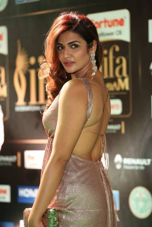 Aarthi Actress at IIFA Utsavam Awards 2017