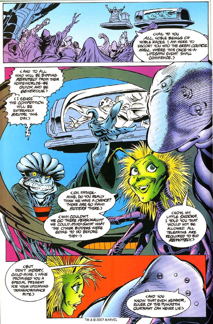 Read online Silver Surfer (1987) comic -  Issue #115 - 12