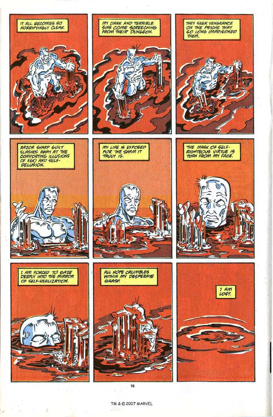 Read online Silver Surfer (1987) comic -  Issue #48 - 18