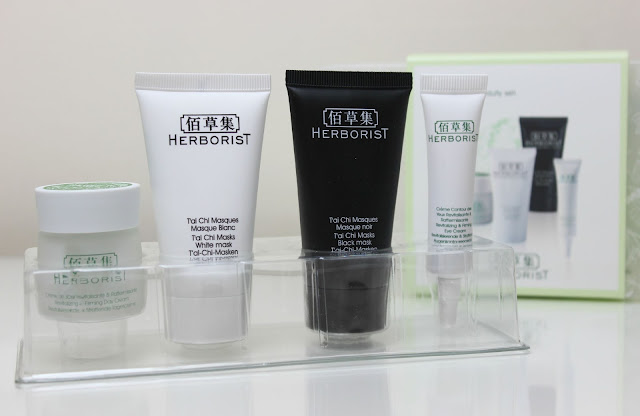 The Herborist Discovery Kit featuring four key skincare products
