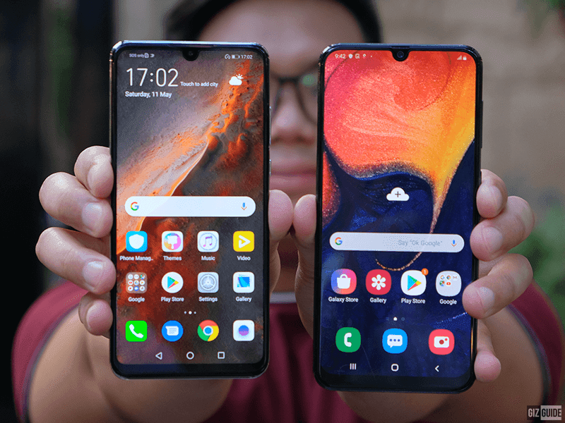 Huawei P30 lite vs Samsung Galaxy A50, the stylish camera phone to get is?