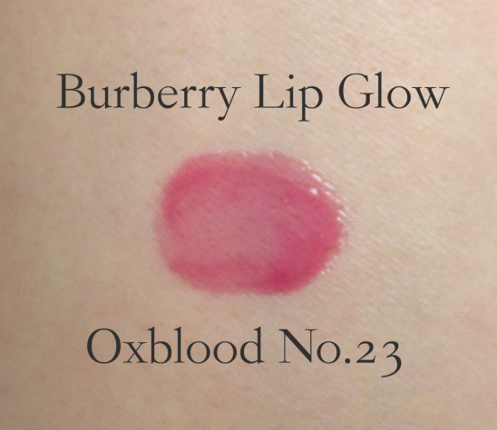 Burberry Lip Glow Oxblood swatch