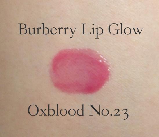 Burberry Lip Glow Oxblood swatch