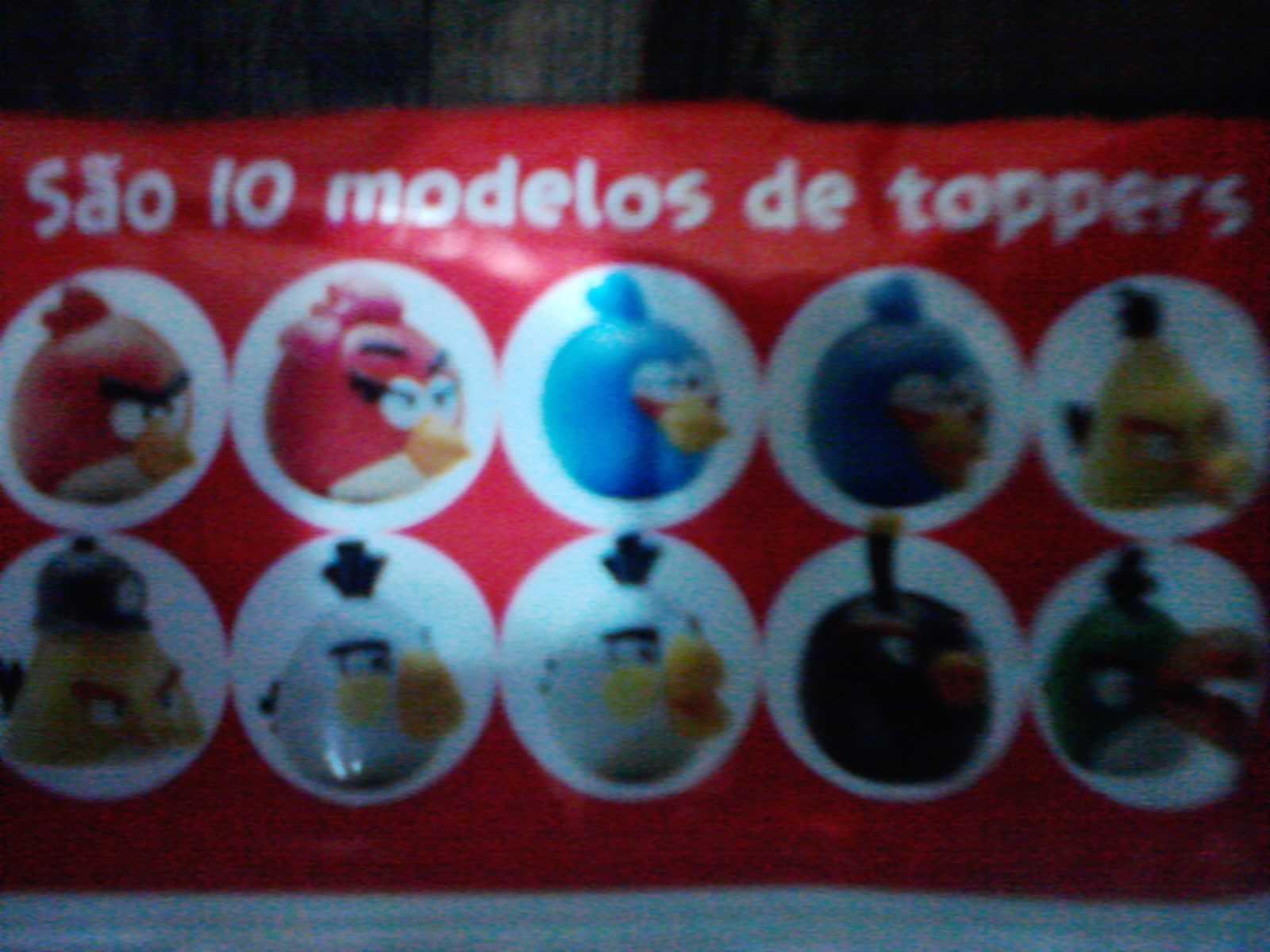 Toppers Personagens Angry Birds: O Esconderijo Do Koi: Angry Birds- Coleção De Miniaturas