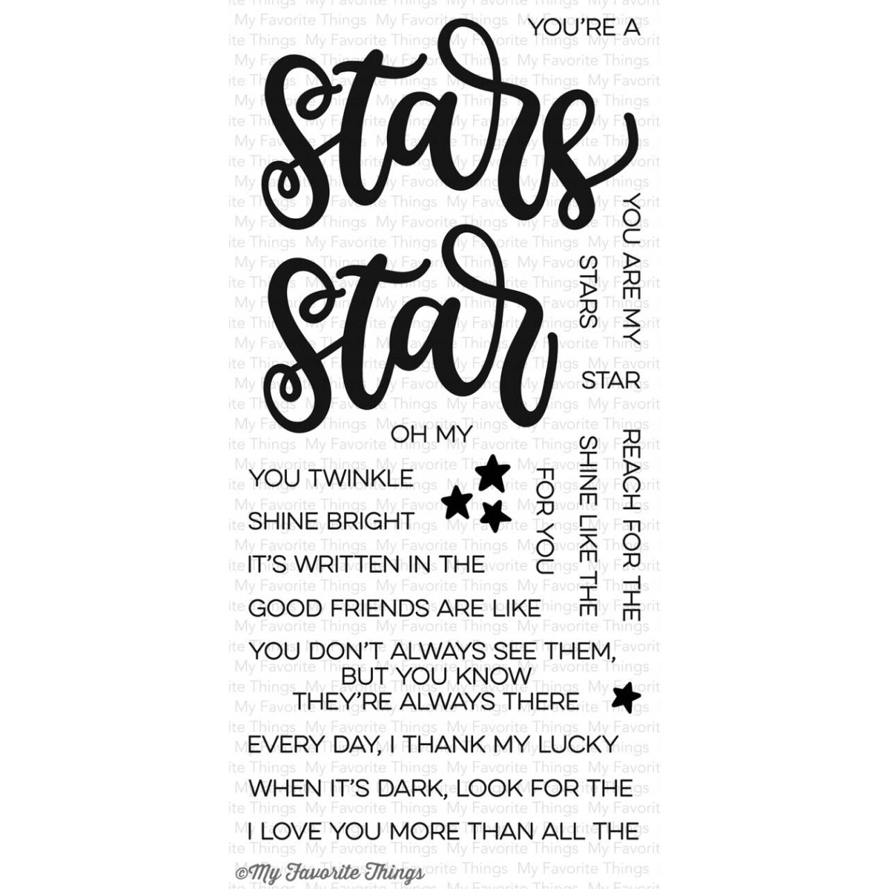 MFT - Written in the Stars stamp set