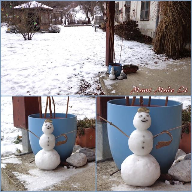 Tiny Snowman - Winziger Schneemann