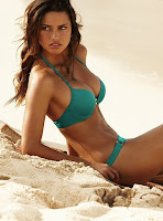 Adriana Lima hot sexy bikini swimwear model photo shoot for Victoria's Secret Swimsuit
