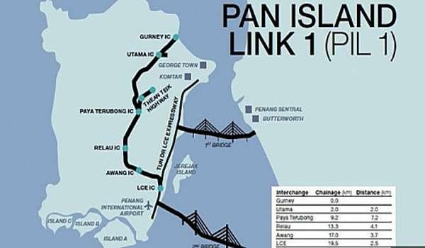 MCA: Lebuhraya Pulau Pinang RM385j setiap kilometer terlampau mahal