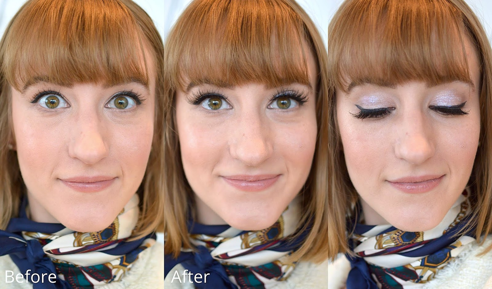 MAKEUP DAY TO NIGHT BEFORE AND AFTER