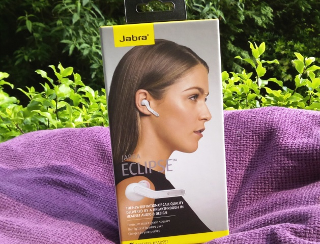 Jabra Eclipse Bluetooth Earpiece Headset Amongst Dual Mic, Geotagging & Siri Compatible!