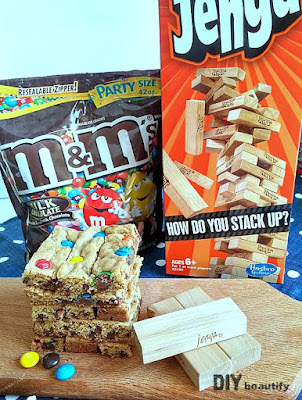 Jazz up game night with themed snacks featuring M&Ms | DIY beautify