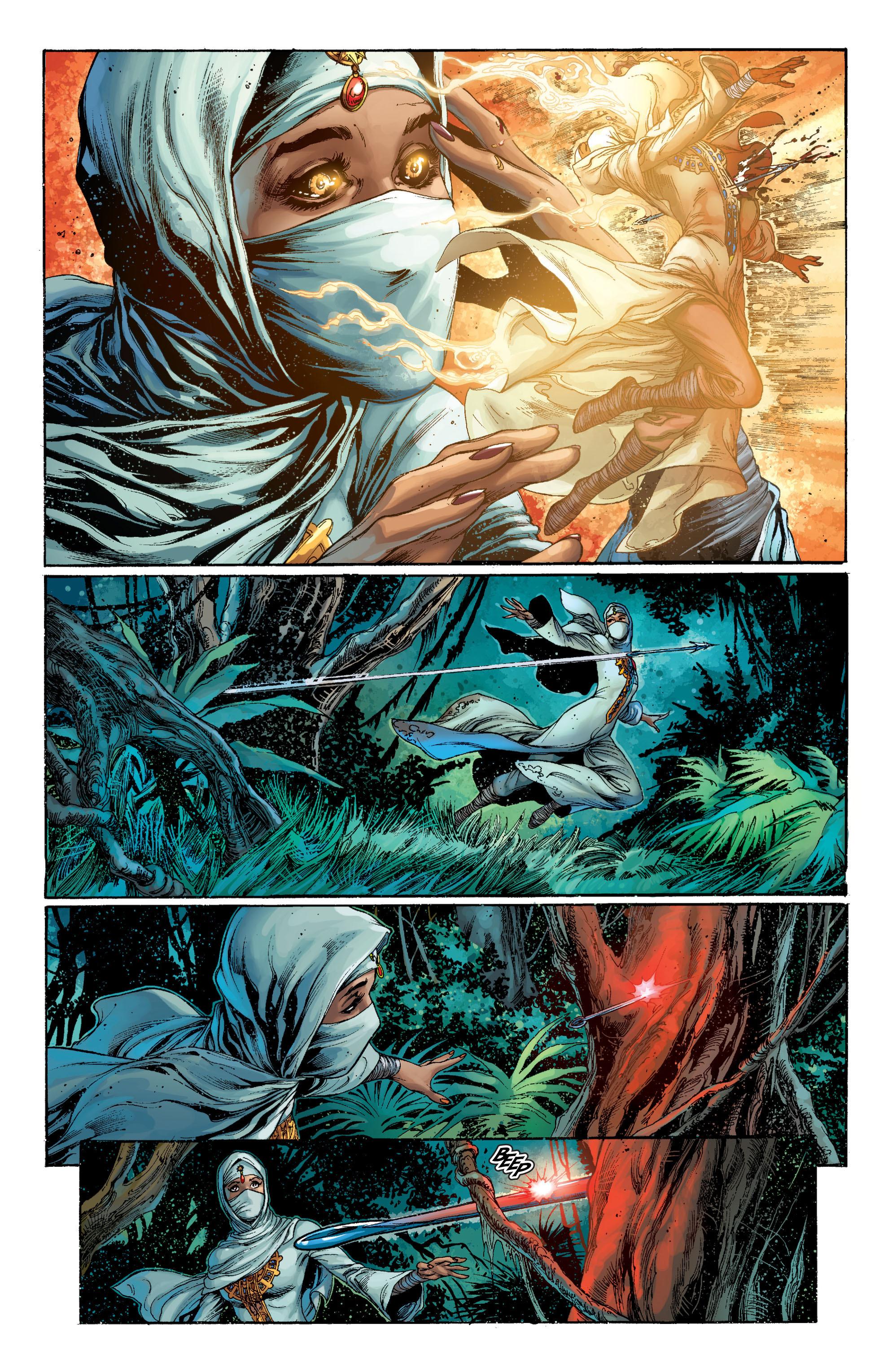 Read online Aquaman (2011) comic -  Issue #7 - 4