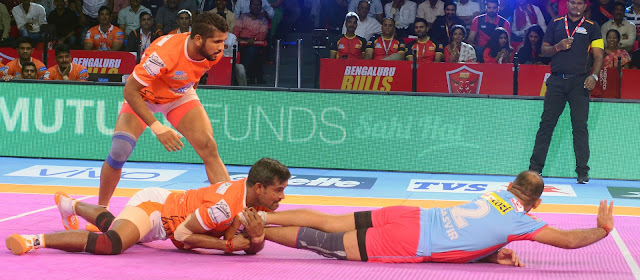 Jaipur Pink Panthers edge Puneri Paltan 30-28