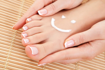 el bicarbonato para los pies