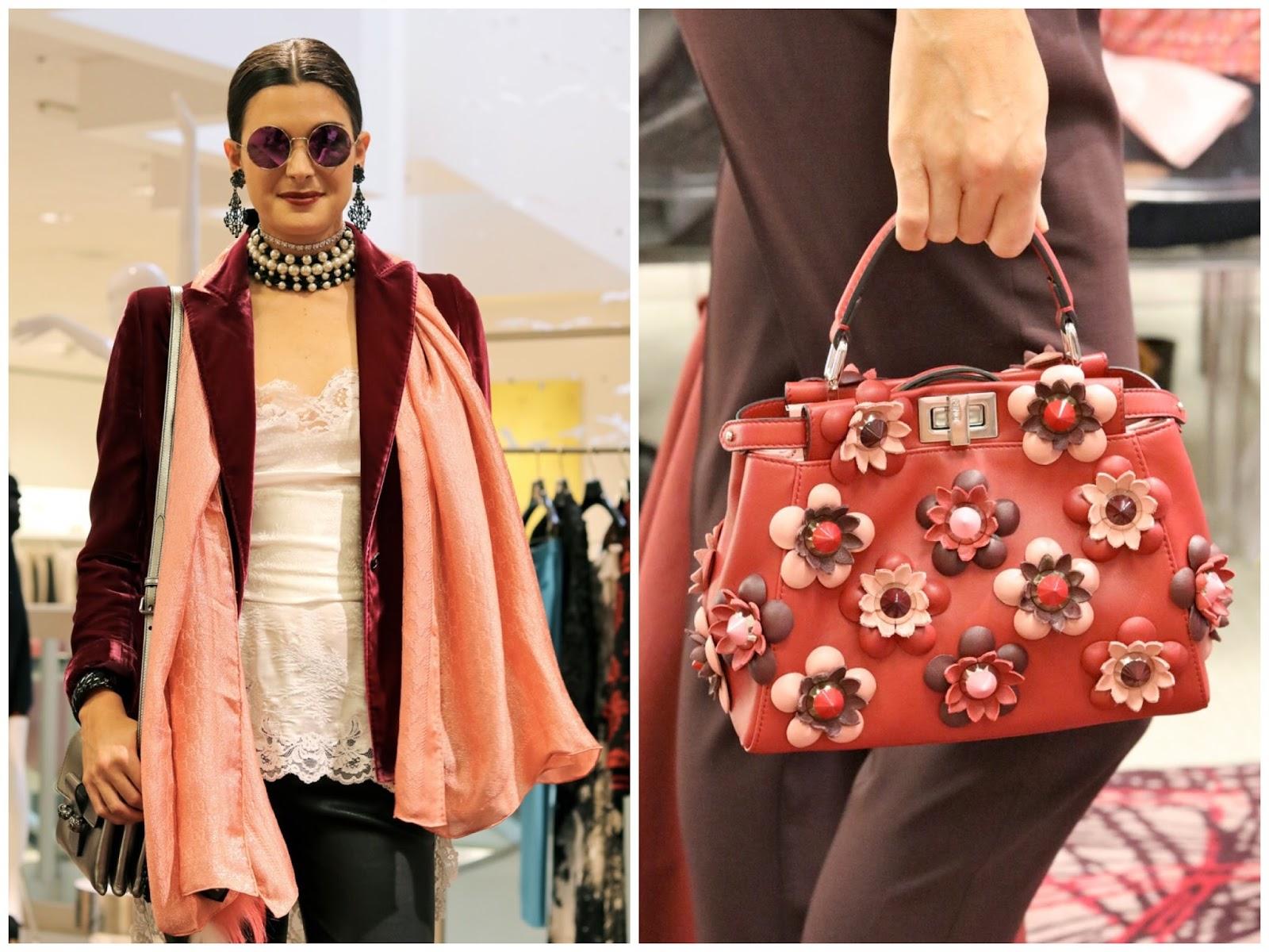 statement choker, fall 2016 chokers, choker trend 2016, top handle purses, top handle handbag