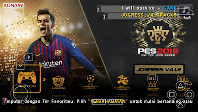 PES 2018 PPSPP Jogress Evolution Patch Season 2018/2019