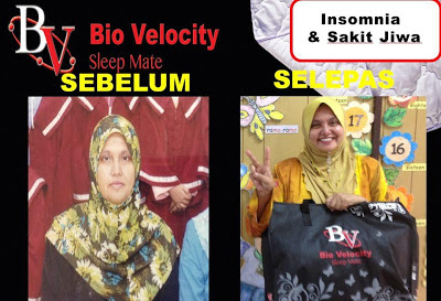 BIO VELOCITY SLEEP MATE HILANGKAN IMSOMNIA SUSAH TIDUR