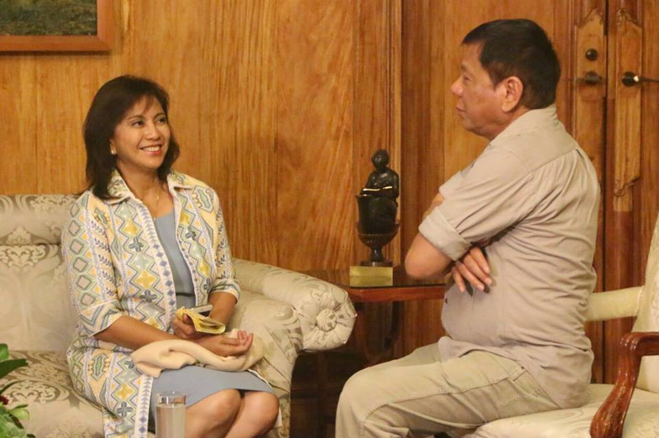 Robredo and Duterte Cabinet