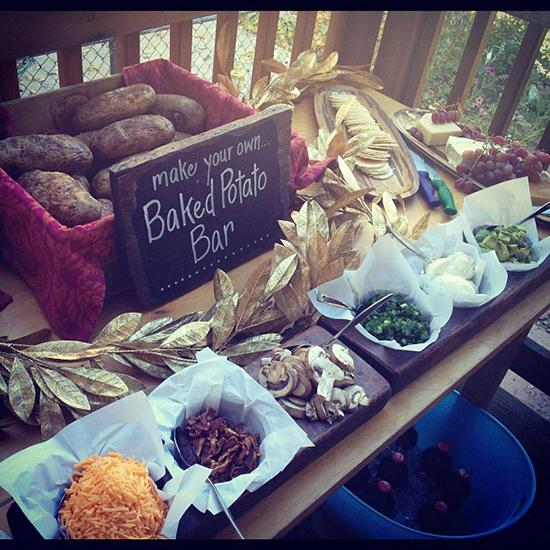 Bbq Wedding Reception Ideas: Sunshine And Whimsy.: Bbq & Bonfire Wedding Reception