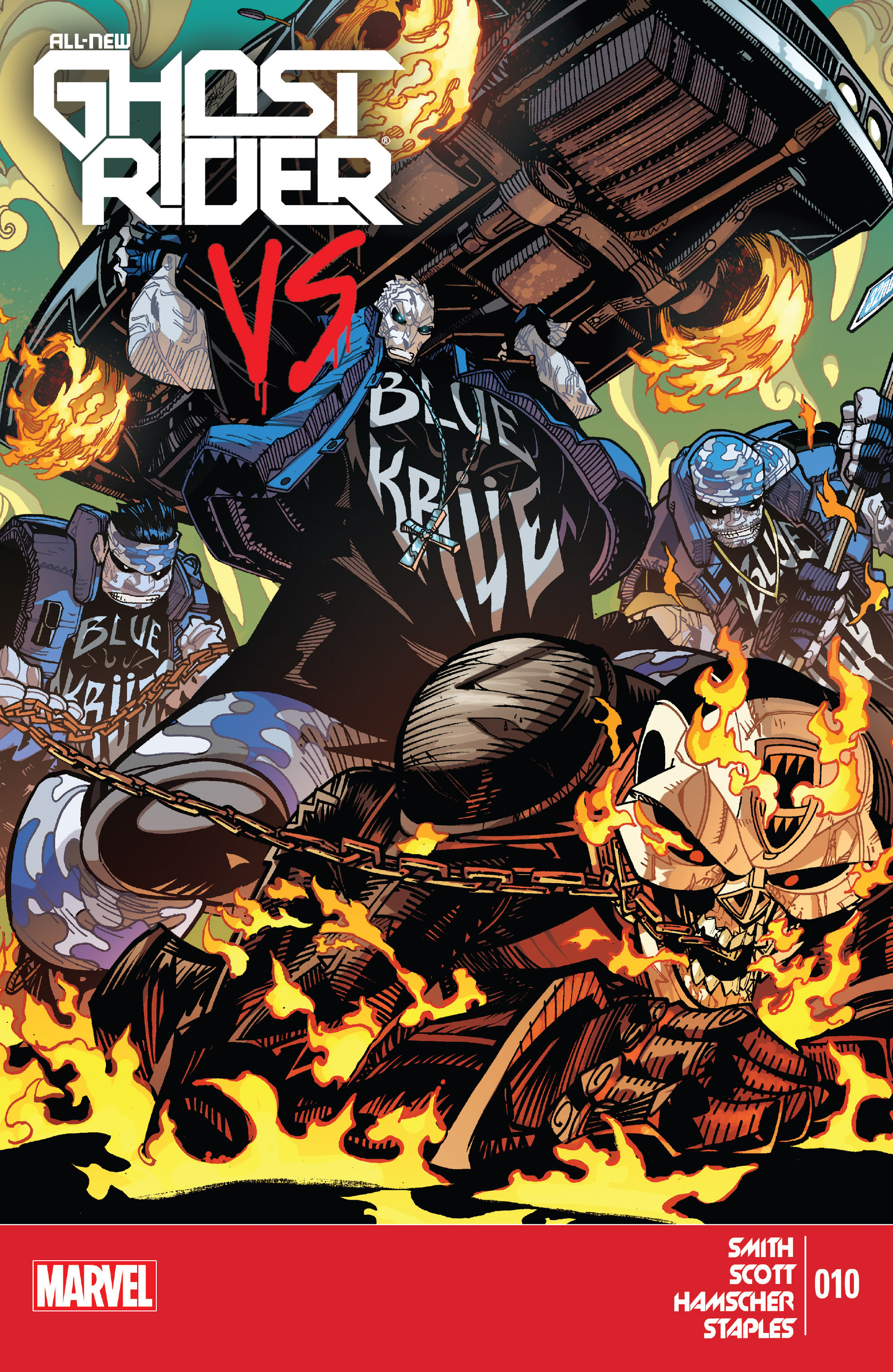 Read online All-New Ghost Rider comic -  Issue #10 - 1