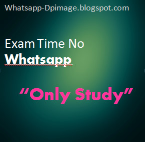 Study Time Whatsapp DP Images